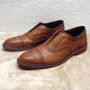 Allen Edmonds Strandmok Cognac Oxford men's 12